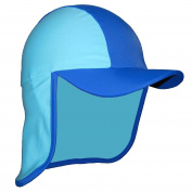Baby Boys Blue UV Sun Protection Legionnaire Cap UPF50+ 3-24 months