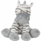 Sitting 20cm Zooma Zebra Soft Baby Toy Beanie