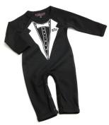 Tuxedo Babygrow / Romper by Nappy Head 0-3 months