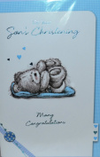 On Your Son's Christening -Many Congratulations Card