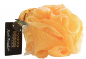High Quality Exfoliating Body Puff / Scrunchie /Buffer - Yellow - Bath & Shower