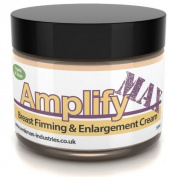 Amplify MAX - Enhanced 30 Day Breast Firming Cream - 11 Ways To A Fuller, Firmer Bust - FAST - UK Made 100% Natural & Organic - 50ml
