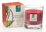 Wax Lyrical Royal Horticultural Society Vanilla & Cinnamon Boxed Candle