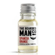 Spanish Orange The Bearded Man Co Beard Oil Conditioner Male Boyfriend Dad Gift 10ml