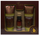 New Argan Oil With Moroccan Argan Oil Extract Gift Set - 100ml Shampoo, 100ml Conditioner + 30ml Oil
