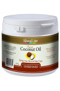 Coconut Oil Organic Unrefined 100% Extra Virgin Cold Pressed, Pure, Raw & Natural Uses - Perfectly Best Health Benefits for All Skin and Hair | 450g