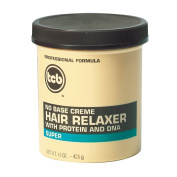TCB No Base Creme Hair Relaxer with Protein and DNA - Super - 425g