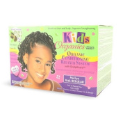 Africa's Best Kids Organics No-Lye Organic Conditioning Relaxer System with Scalp Guard for Fine to Normal Hair, Kids Regular Kids, Infant, Child, Baby Products