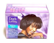 Softsheen.Carson Dark And Lovely Moisture Plus No-Lye Relaxer - Regular