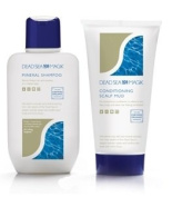 Dead Sea Spa Magik Hair Care Set 1x Shampoo 320ml 1x Scalp Mud 150ml