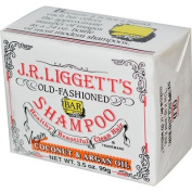 J.R. Liggett's, Shampoo Bar, Virgin Coconut & Argan Oil, 100ml
