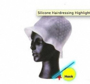 Professional Silicone Hairdressing Highlighting Cap & Hook - Top Quality