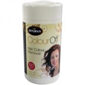 Denman Colour Off hair removal wipes- DENDCLR