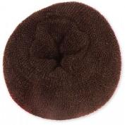 Extra Large Hair Doughnut Bridal Wedding Hair Style Bun Ring (15cm ) - Brown