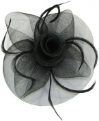 Ladies Looped Fascinator with Swirl Centre