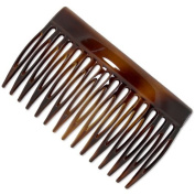 French Side Hair Comb (Tortoiseshell)   Made in France   Quality Hair Accessories   Ebuni