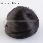 Hot Women Lovely Clip In Ponytail Bun Scrunchie Drawstring Hair Extension