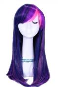 Tqglobal 55cm Mixed Purple / Pink My Little Pony Twilight Sparkle Cb28