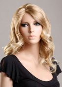 Forever Young Ladies Long Blonde Wig in Falling Waves & Off Centre Parting