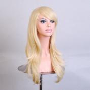 Tengs Medium Long Wavy Full Wig