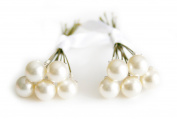 10 x Cream Pearl Wedding Bridal Hair Pins Made With. ELEMENTS
