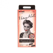 Scunci Girls and Womens Vintage Victory Roll Kit By in Black
