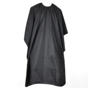 Professional Salon Hair Cut Hairdressing Barbers Gown Cape --- Perfect for Hair Cutting / Colouring / Perming --- Easy to Clean & Dry Quickly