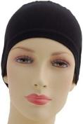 Black Bone Hair Cap Hijab