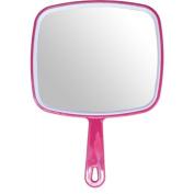 Hair dressing salon professional PINK hand held mirror