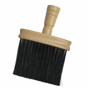 Wooden Handle Neck Duster Brush For Barbers Hair Cutting Salon Hairdressing For College and Professional Use