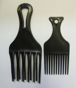 AFRO DOUBLE PIK COMB 2PCS