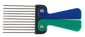 AFRO COMB METAL TEETH & FOLDABLE HANDLE