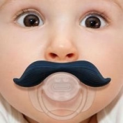 Desire LTD Baby Moustache Dummy Dummies Soother Pacifier Novelty Joke Funny
