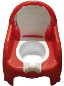 New Child Toilet Seat Potty Training Seat Chair With Removable Potty Lid RED