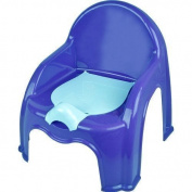 New Child Toilet Seat Potty Training Seat Chair With Removable Potty Lid BLUE