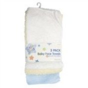 Baby Face Towels * Pack of 3 *