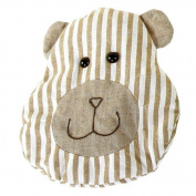 Cherry Pit Pillow with cotton lining BRUNO the bear