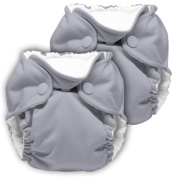 Lil Joey 2 Pack All-in-One Cloth Nappy, Platinum