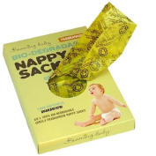Beaming Baby Bio-degradable Nappy Sacks Fragranced - 5 x packs of 60