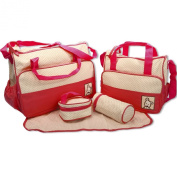 Babyhugs® 6pcs Baby Nappy Changing Nappy Bag SET with Special Bag Organiser