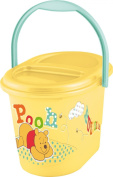 OKT Kids 11800208054 Nappy Bucket Winnie The Pooh Honey Yellow