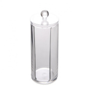 Cotton Wool Pad Cosmetic Clear Acrylic Organiser Container Display #297