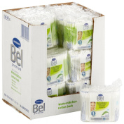 Bel 187401 Premium Cotton Buds with Aloe Vera and Provitamin B5 Refill Pack with 24 Boxes of 200