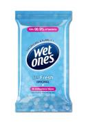 Wet Ones - Be Fresh Original Antibacterial - 12 Packs of 40 Wipes