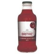 Britvic Cranberry Juice 24x160ml Glass Bottles