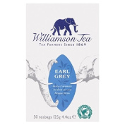 Williamson Earl Grey Tea Bags 50 per pack