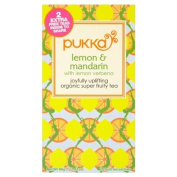 Pukka Herbs Lemon & Mandarin Tea 2 per pack
