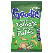 Organix Goodies Organic Tomato, Cheese & Herb Puffs 4 Pack x 15G