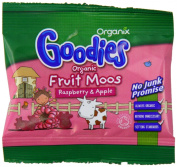 Organix Organic Goodies Raspberry Fruit Moos 12 g