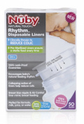 Nûby Natural Touch Rhythm Anti Colic Disposable Liners